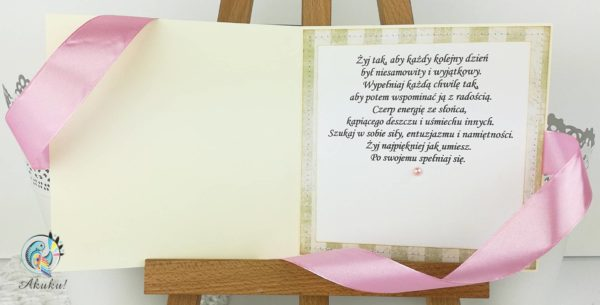 Kartka urodzinowa