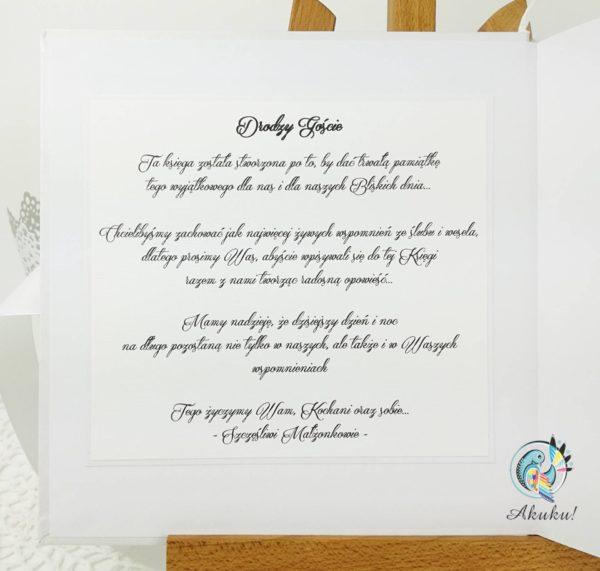 Księga gości weselnych