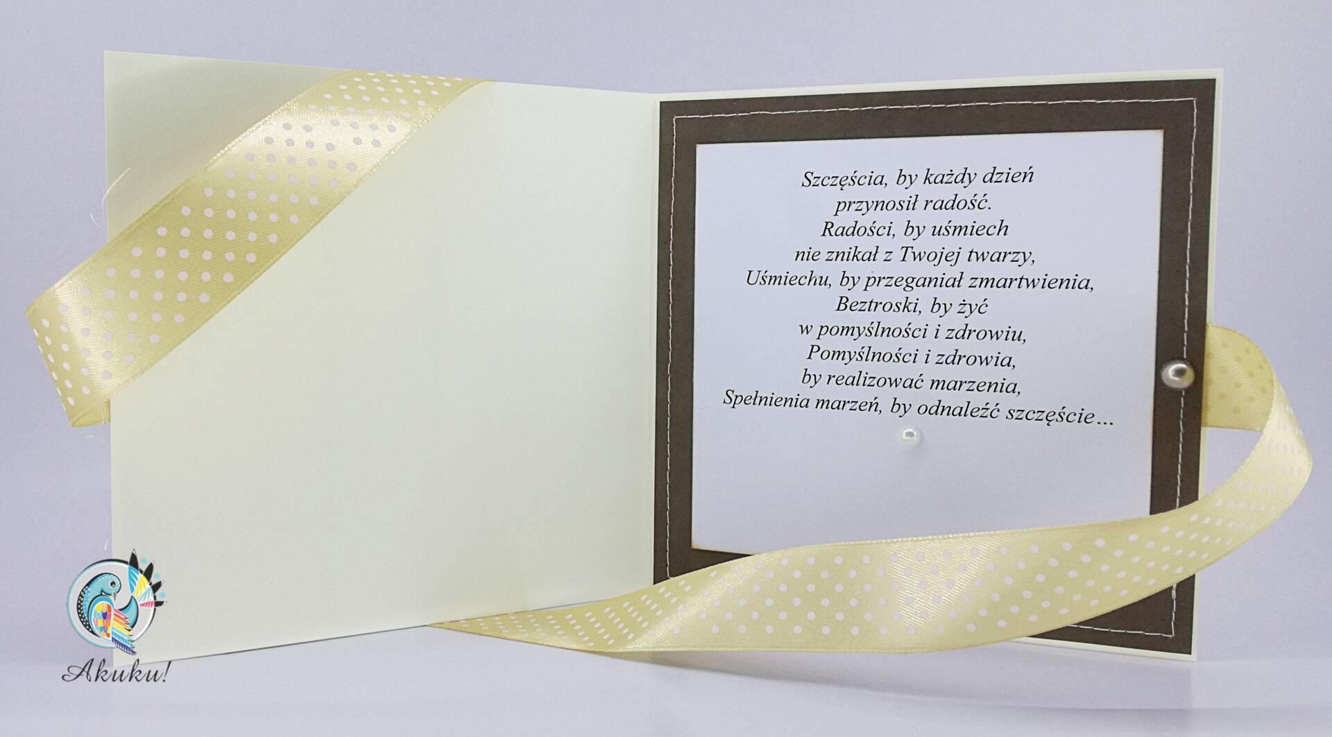 Kartka urodziowa